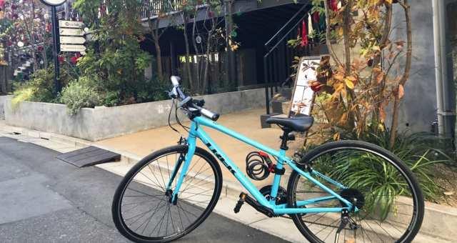 【恵比寿・代官山・渋谷】クロスバイクで都内のおしゃれスポット巡り