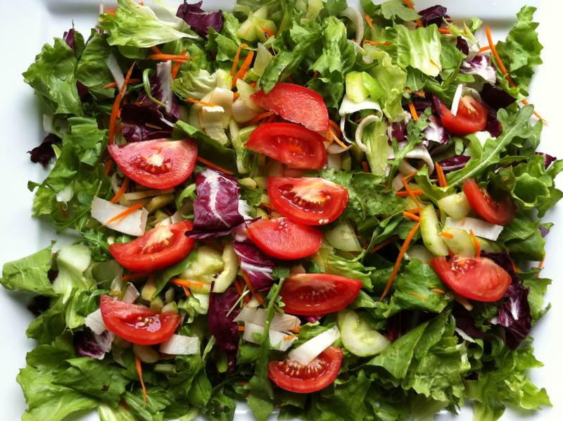 In vino veritas – Mixed salad with wine vinaigrette