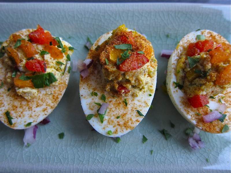 Fancy These Deviled Eggs