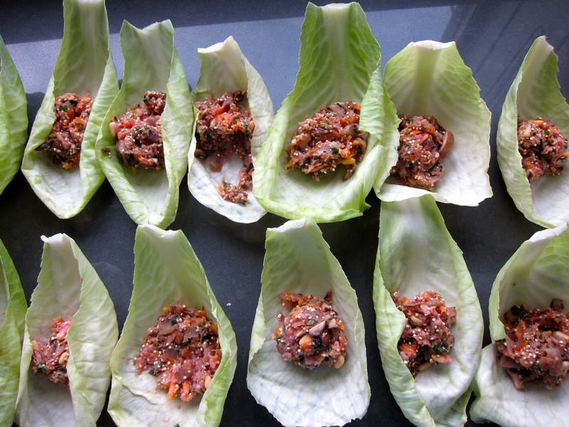 Holly's Halishkas - New Age Stuffed Cabbage Rolls