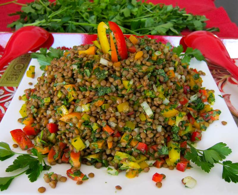 Super Tasty Lentil Salad - Spread the Word!