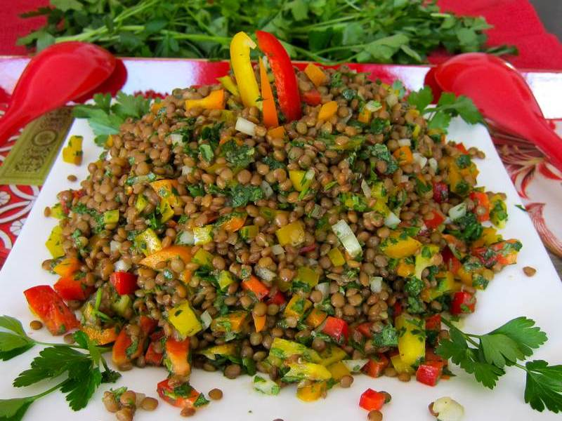 Super Tasty Lentil Salad – Spread the Word!