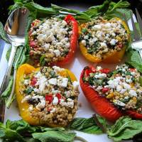 Stuffed Sweet Pepper - Hearty and Healthy!