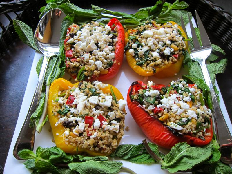 Stuffed Sweet Pepper – Hearty and Healthy!