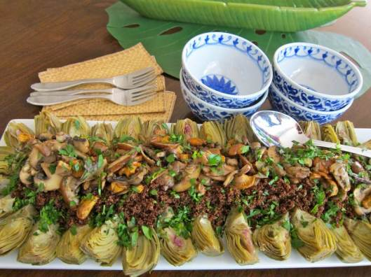 kaniwa recipe, baby artichoke recipe, vegan recipe, vegetarian recipe, healthy recipe, recipe, recipes, jittery cook recipe