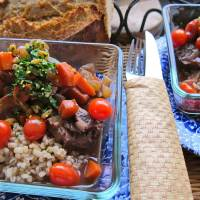 Slow Cooked Veal with Gremolata