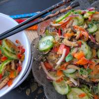 Oriental Salad for a Crowd