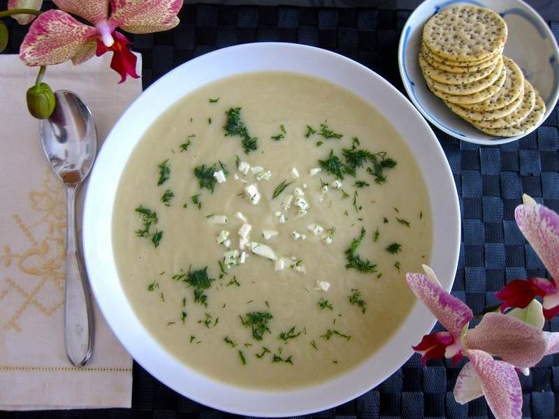 Celeriac Soup – From Gnarly to Creamy Smooth