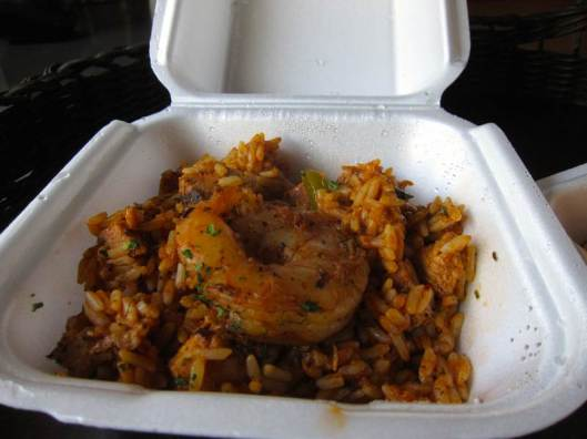 Orange Cafe Montreal Jambalaya