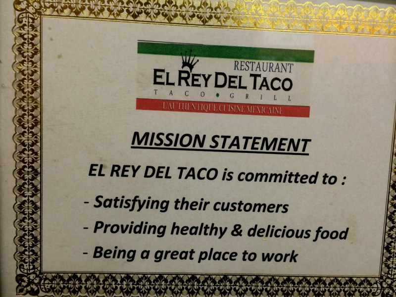 El Rey Del Taco – Authentic Mexican Cuisine