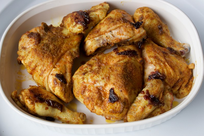 Ricardo's Oven-Roasted BBQ Chicken