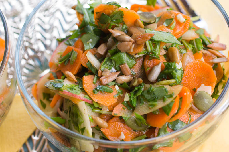 Paper-Thin Carrot Salad