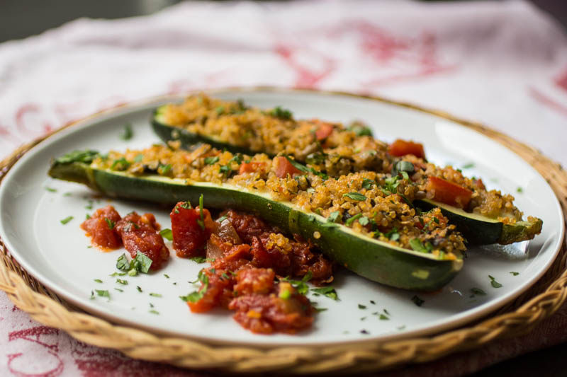Stuffed Zucchini – Happy ZZZs
