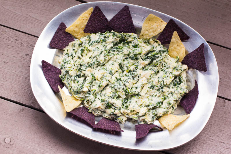 Hearts Of Palm Spinach Nachos – Creative Delight!