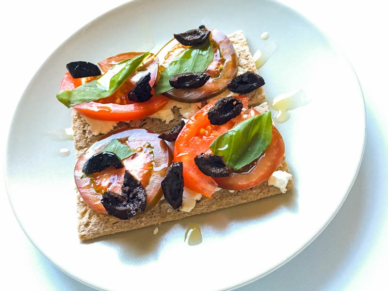 Buckwheat Crispbread Crostini – For Mark Ruffalo