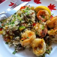 Jumbo Shrimp with Shrimp Spice - Dinner for Two