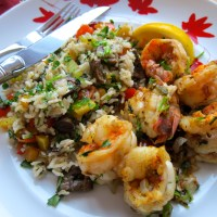 Jumbo Shrimp with Shrimp Spice - Dinner for Two