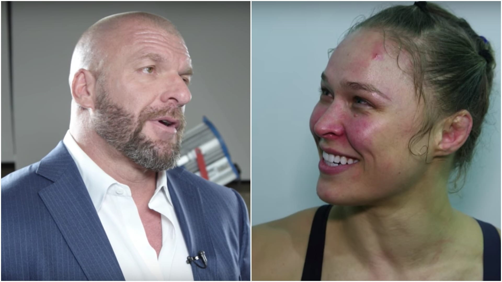 Triple H Spotted Dining With Ronda Rousey