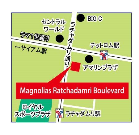 小林ミシュラン 5つ星への道の第105回は「マグノリア・ラチャダムリ・ブールヴァード」