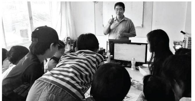 毎週の土曜日、日本語補習サークルを開催しています