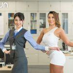 Akerun入退室管理システムCMの女性タレントは誰?プロフィールや経歴など!