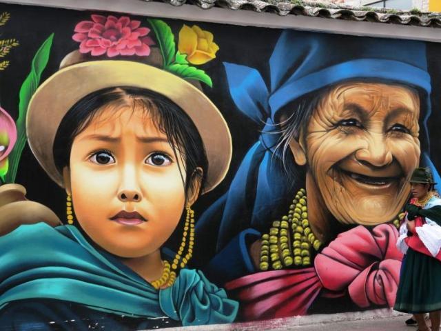Entspannt in Ecuador