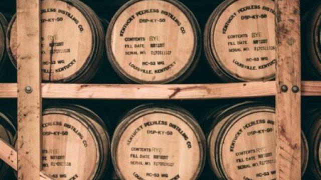 バーボンの樽