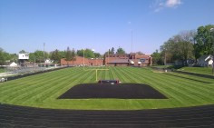 High School Football Field