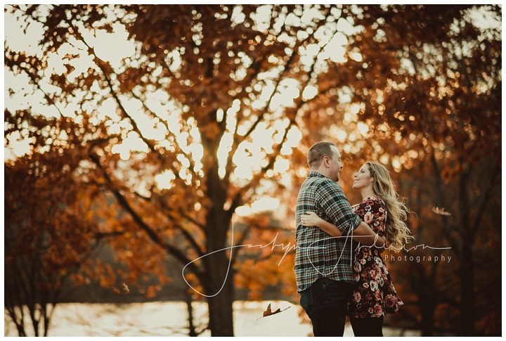 Cassie + Joey   Fall Engagement Session, Blue Spruce Park, Indiana, PA   Indiana PA Photographer