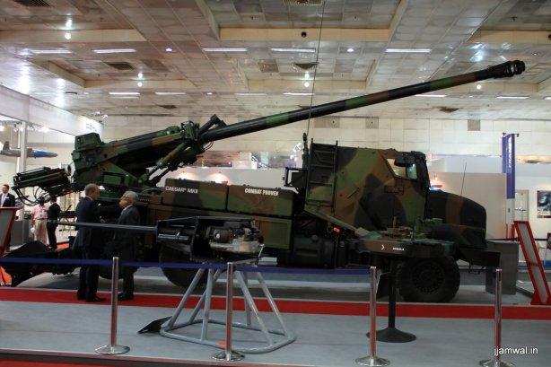 Caesar MkII wheeled self-propelled howitzer