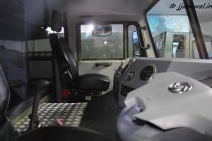 Ashok Leyland 8x8 Truck Cabin