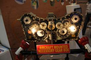 Aircraft mounted accessory gear box