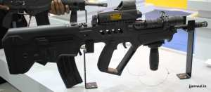 TAVOR C21 5.56mm assault rifle / carbine with Self-illumination reflex sight and assault grip