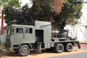 DRDO Truck Mounted 105mm gun