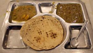 Langar food in Gurudwara