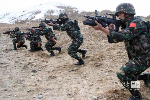 IMAGE 4: Xinjiang Military Region Special forces training