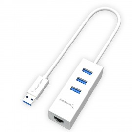 Sabrent CB-FT1M USB 2.0 To Serial 0.5m Cable Adapter