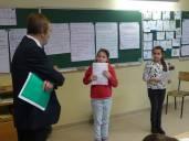 A l'occasion d'une visite de classe à Bruille-lez-Marchiennes