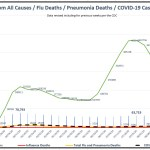 Detailed Chart of U.S. Mortality and Covid Cases