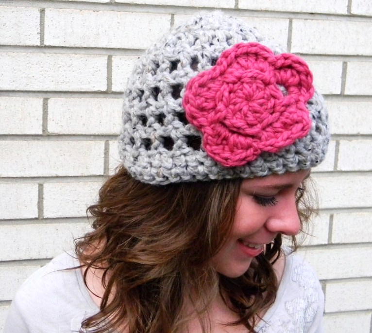 Crochet Beanie Pattern J Hook : Open Crochet Hat Pattern JJCrochet