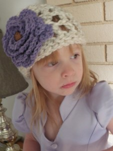 Crochet Open Weave Hat Pattern - Abby