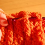 Front-Post Double Crochet