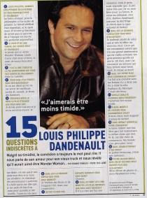 Louis Philippe Dandenault ©7Jours2004