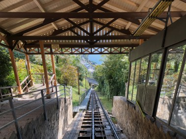Glion to Territet funicular