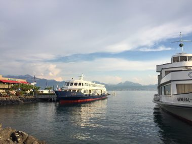 Lausanne the ferry to Evian
