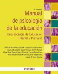 Libro de psicología de la educación