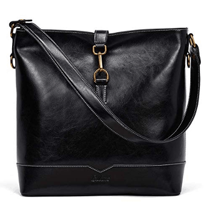 Fashion Shoulder Tote Bag black