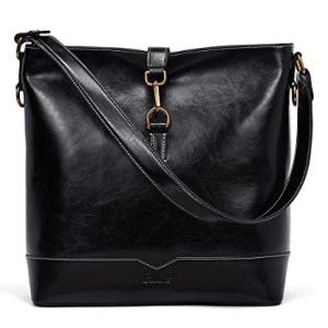 Fashion Shoulder Tote Bag black