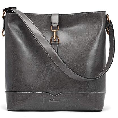 Fashion Shoulder Tote Bag grey