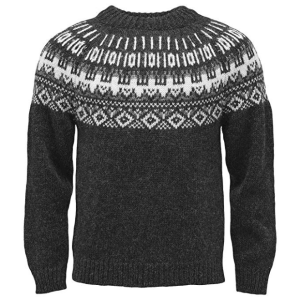 Traditional ICEWEAR Elis Icelandic Wool Sweater grey